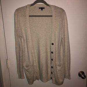 Tan GAP Cardigan w/ Pockets
